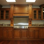 Ginger Maple Cabinets