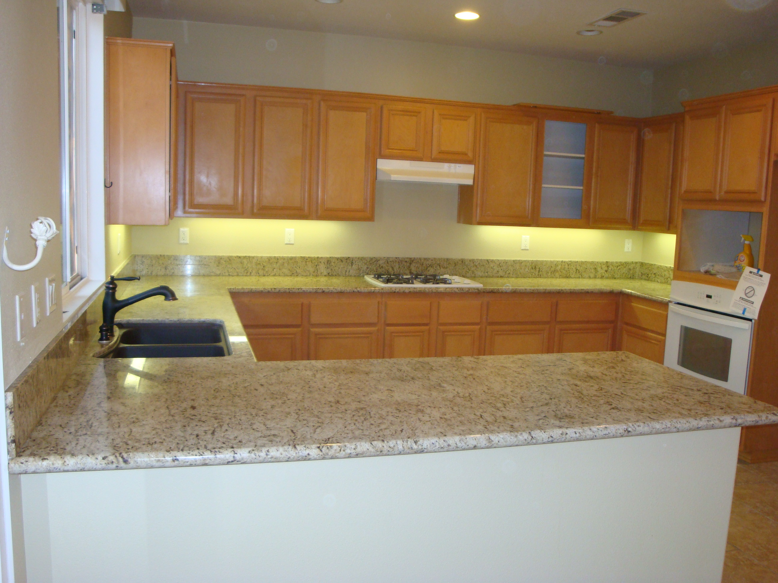 Ornamental Gold Granite Counter Tops |Santa Clarita