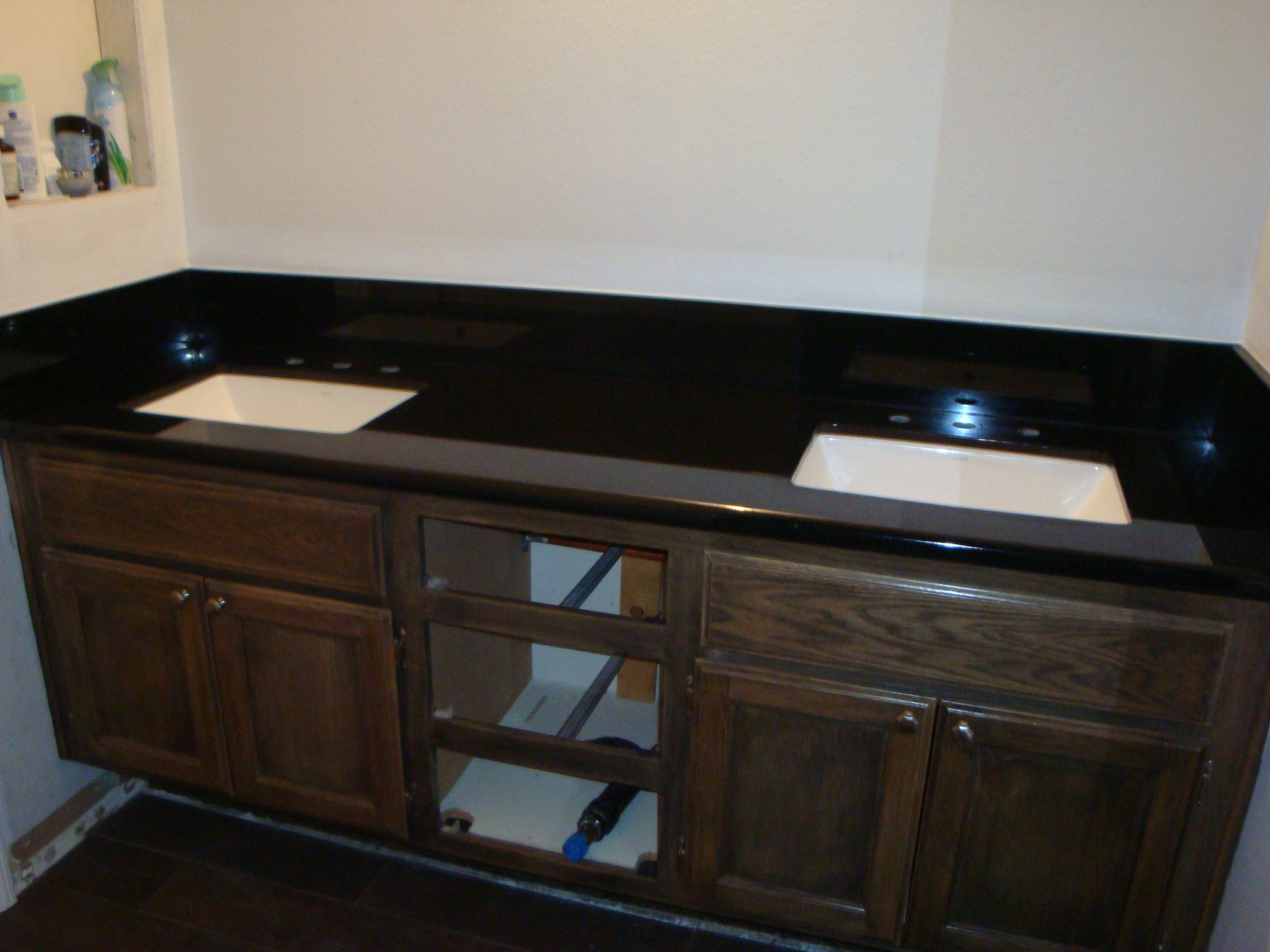 Black Absolute Granite Vanity Tops | Santa Clarita