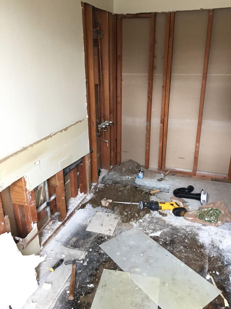 Demolition & Plumbing