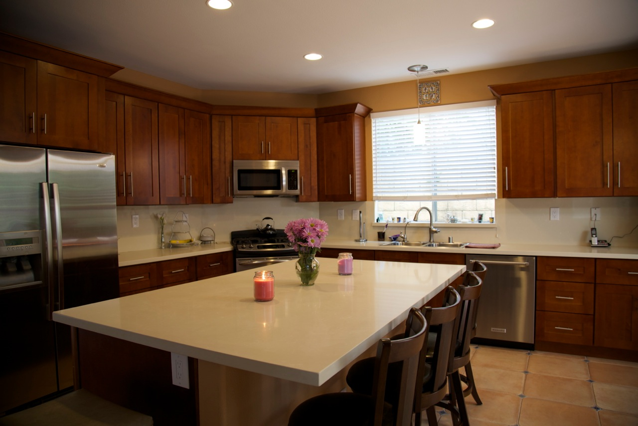 Bathroom Counters And Cabinets
