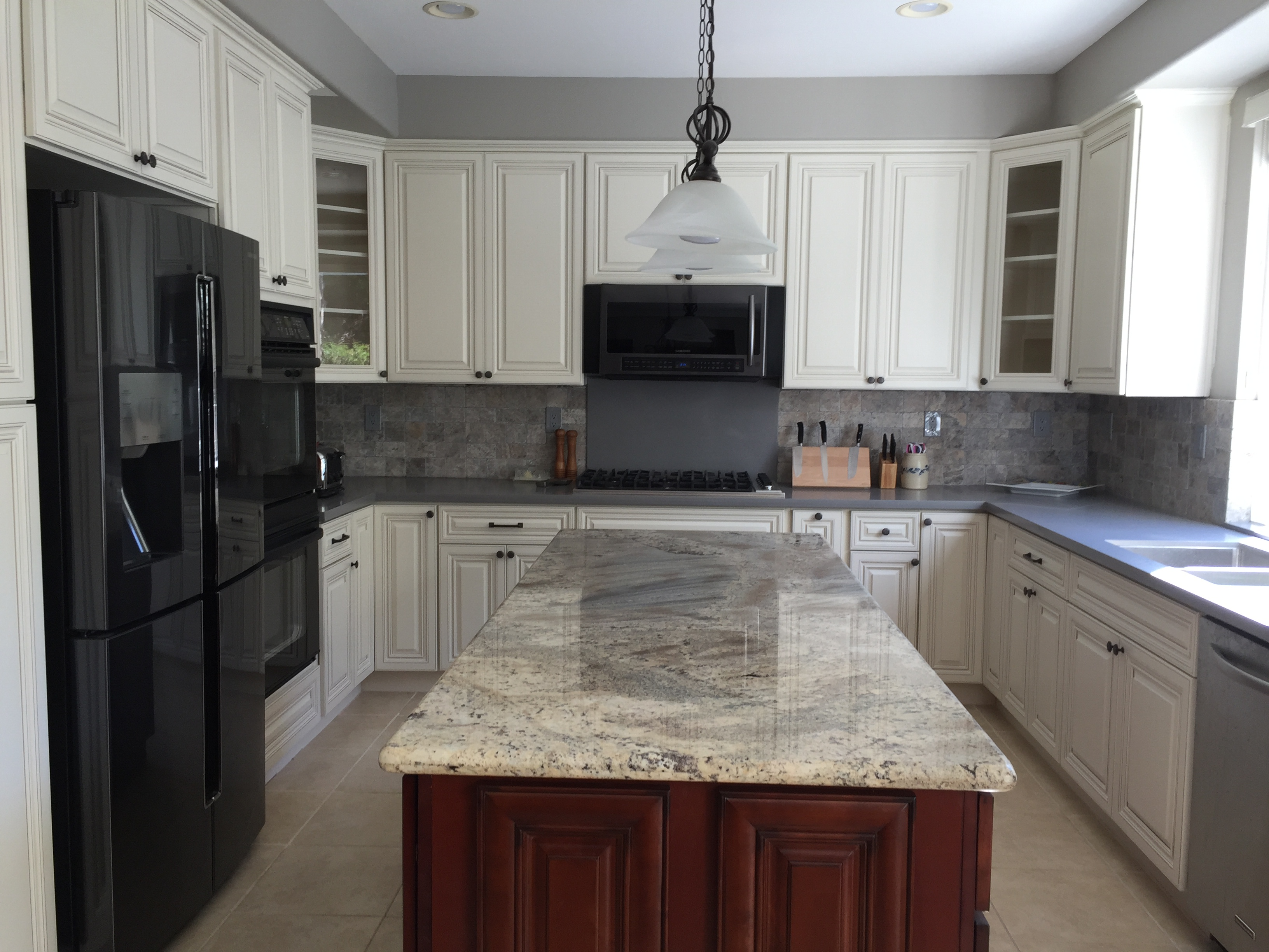 antique white cabinets granite quartz countertops stevenson ranch
